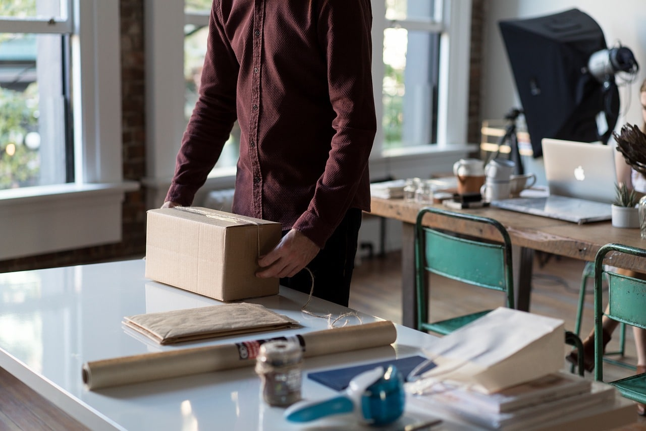 package, packaging, box